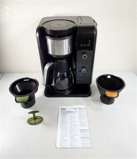 This makes refilling very convenient since you can safely size up the content right under the flowing tap. Ninja Hot and Cold Brewed System, Auto-iQ Tea and Coffee Maker with 6 Brew Sizes | eBay