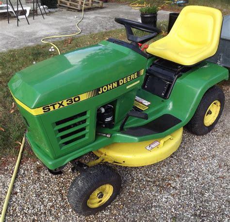 bureau de change troc echange tracteur tondeuse deere stx 30 sur