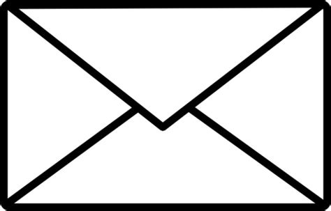 Black White Email Icon Free Vector For Free Download About