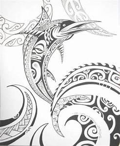 Dessin D Hirondelle Pour Tatouage : motif pour dessin de tatouage polyn sien maori ~ Melissatoandfro.com Idées de Décoration