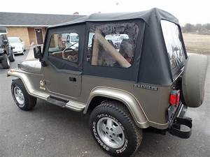 Jeep Wrangler Sahara 4 U00d74 1991 Jeep Wrangler Sahara Yj 4 0l