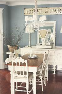 french shabby chic dining room pictures photos and With kitchen colors with white cabinets with french shabby chic wall art