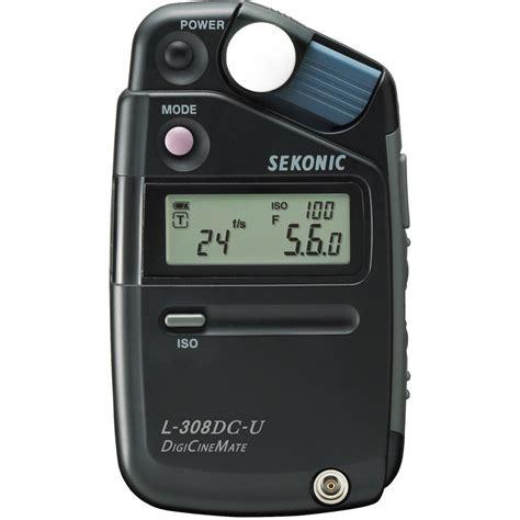 sekonic light meter sekonic l 308dc u digicinemate light meter 401 311 b h photo