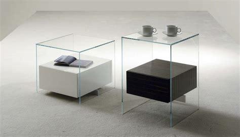 Table De Nuit Verre by Table De Chevet Design En Verre Design En Image