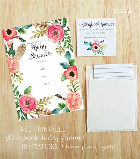Free Printable Baby Shower Invitations For - free printable baby shower invitations my fabuless