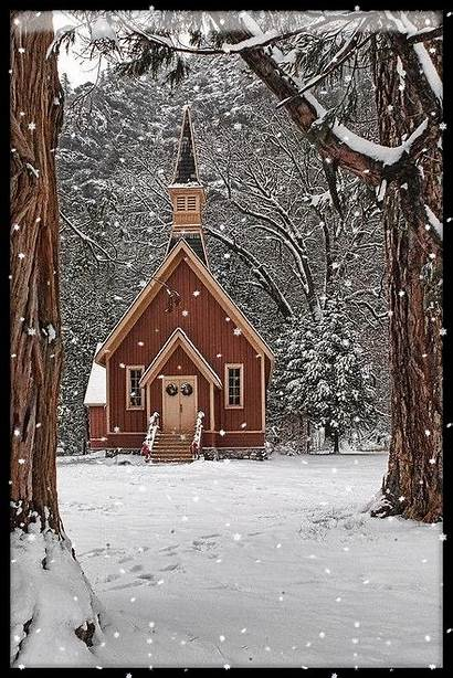 Church Country Snow Winter Churches Abandoned Barns