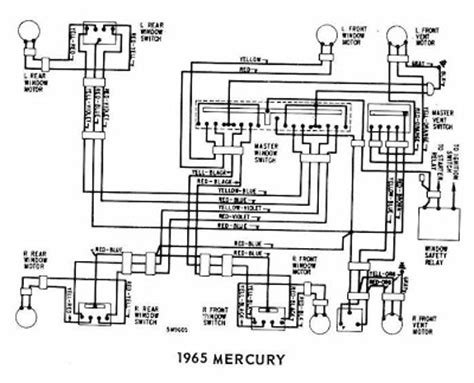 Mercury Windows Wiring Diagram All About