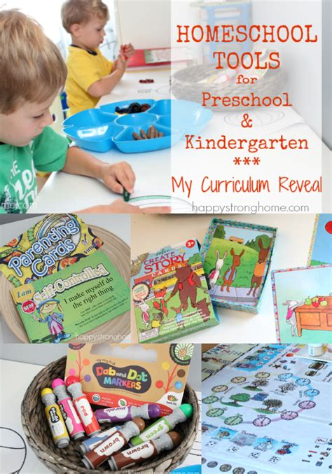 homeschooling curriculum preschool homeschool tools for preschool amp kindergarten my 357