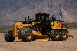 cat equipment new cat 16m3 motor grader delivers greater fuel efficiency