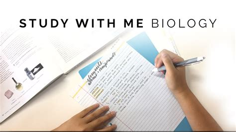 Study With Me Biology