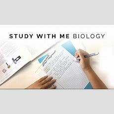 Study With Me Biology Youtube