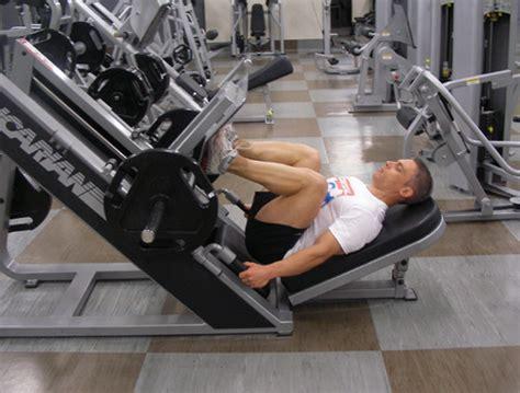Leg Press Exercise Video Example
