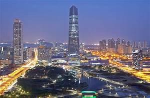 Songdo, South Korea has an eco