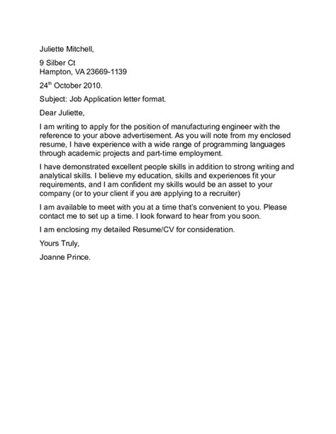 an application letter write book report non