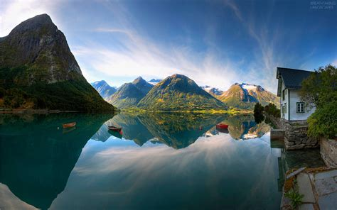 Norwegian Landscape Breathtaking Landscapes
