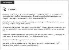 career summary statement exles accounting software 3 stunningly good linkedin profile summaries linkedinsights com