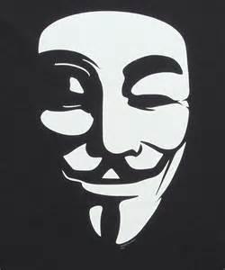 V for Vendetta Mask Logo