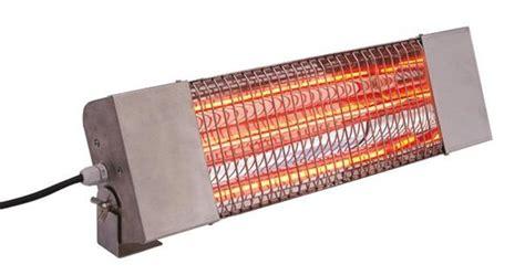 chauffage radiant infrarouge inox pour ext 233 rieur et