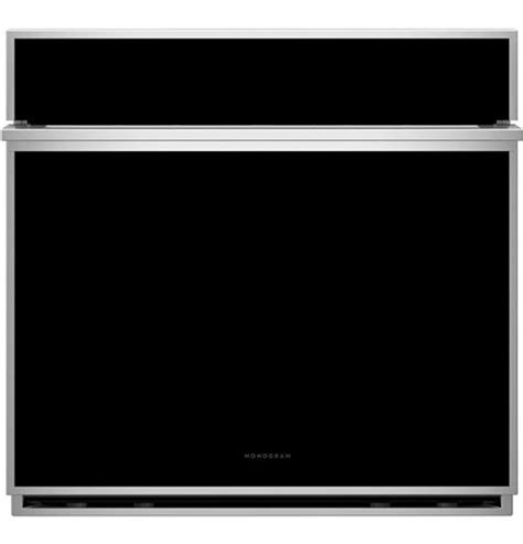 ztsdssnss monogram  smart electric convection single wall oven minimalist collection