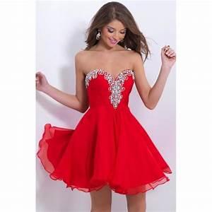 Robe Bal De Promo Courte : ch rie robe rouge de soir e courte femmes robe de bal robe de retour rouge achat vente robe ~ Nature-et-papiers.com Idées de Décoration