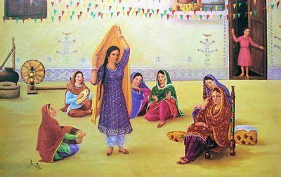 images  punjabi art  pinterest bhangra
