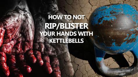hands kettlebell blister kettlebells rip hand cavemantraining injuries