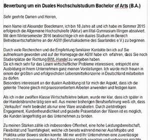 Ikea Duales Studium : ist meine bewerbung so ok deutsch duales studium ~ Markanthonyermac.com Haus und Dekorationen