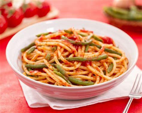 cuisine des pouilles spaghetti et haricots verts princesses cuisine