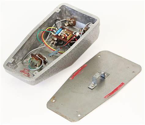 Vox Tone Bender Fuzz Pedal Very Rare Super