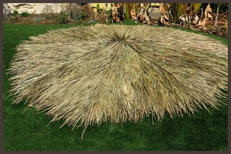 Tiki Hut Roof Thatching. Versatile Thatch Roofing Natural
