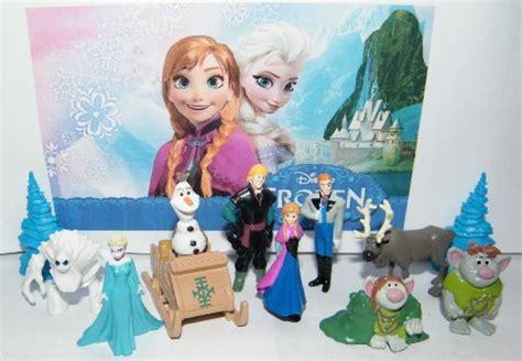 disney frozen deluxe figure play set toy    anna