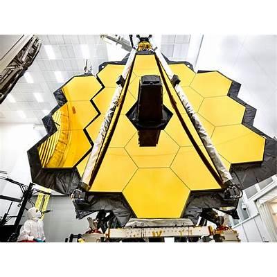 Webb Telescope Mirror Prepared for Testing at Johnson
