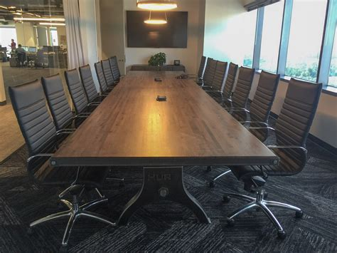 Hure Boxcar Conference Table – Model #HU63 – Vintage