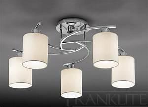Luminaire Salon Abat Jour Lampe Triloc