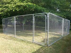 chain link dog kennel 10x10x6 best chain 2018 With 4 x 3 dog kennel