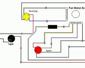 Hunter Ceiling Fan 3 Speed Switch Wiring Diagram