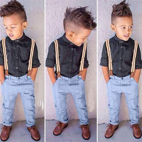 New Children Clothing Sprint Summer Cute Baby Boys Clothes Set Boy Kids Long Sleeve Shirt ...