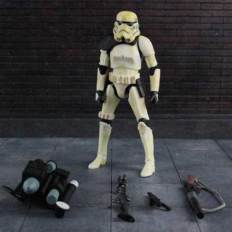cheap new wars 7 bai binggong aberdeen to reproduce the classic stormtrooper many weapons