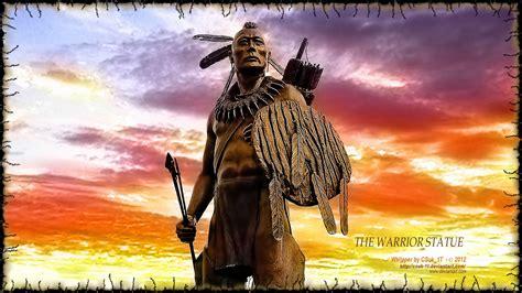 Native American Warrior Wallpaper Native american