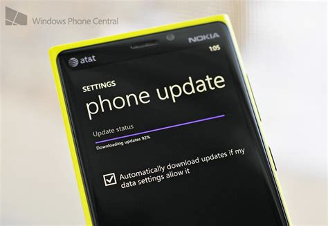 at t lumia 920 and lumia 820 now getting the lumia cyan update windows central