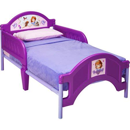 disney sofia the toddler bed walmart