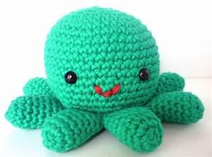 Hector the Octopus - Cute Amigurumi Crocheted Stuffed ...