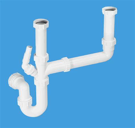 Double Bowl Sink Kit   McAlpine Plumbing Products