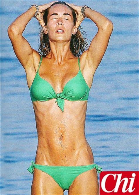 silvia d amico bikini anche silvia toffanin sfoggia un bikini davvero in gran
