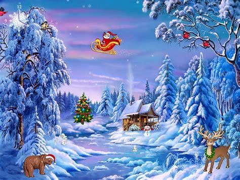 49 Bing Free Christmas Wallpaper Screensavers On