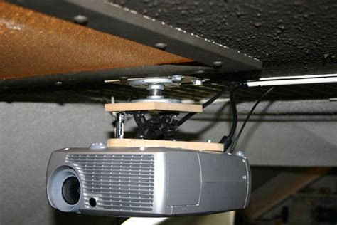 ceiling projector mount diy diy projector mounts