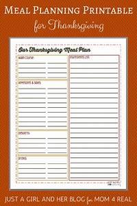 Free Printable Potluck Sign Up Sheet Thanksgiving Menu Meal Planning Free Printable