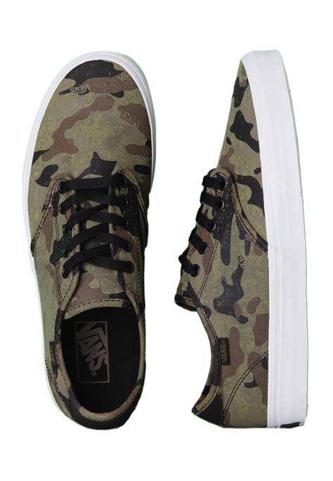vans camden camo army black shoes impericon worldwide