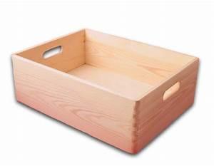 Aufbewahrungsbox Mit Deckel Holz : offene aufbewahrungsbox holzkiste mit griffl chern kiefer unbehandelt gr 2 aufbewahrungsboxen ~ Bigdaddyawards.com Haus und Dekorationen