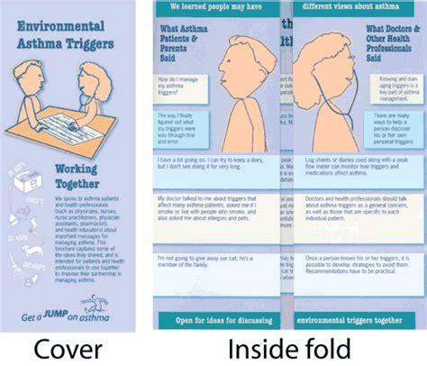 asthma brochure template asthma brochure newspress me